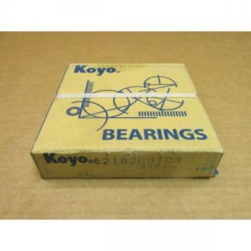 KOYO 62182RDTC3 BEARING RUBBER SEALED 6218 2RDT C3 6218-2RS-C3 90x160x30 mm