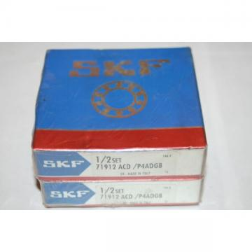 SKF 71912 ACD/P4ADGB Super Precision Angular Contact Bearings * NEW *