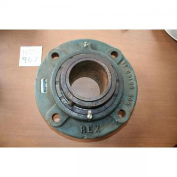 NOS Rexnord ZBR-2307 3-7 1/16 inch Bore Flange Bearing 4 bolt mount  C