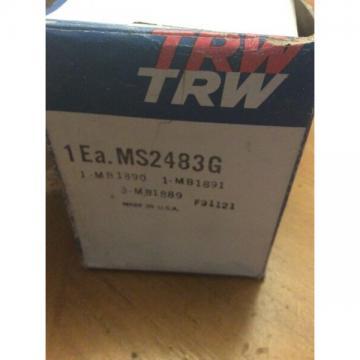 TRW Bearing Set MS2483G, 1970-79 Pontiac 6.6L, 5.7L